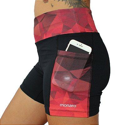 Shorts Feminino Corrida Premium Red Triangle
