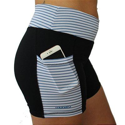 Shorts Feminino Corrida Premium Sailor Blue