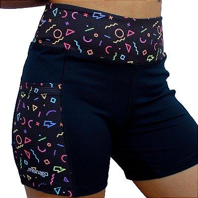 Shorts Feminino Corrida Premium Símbolos