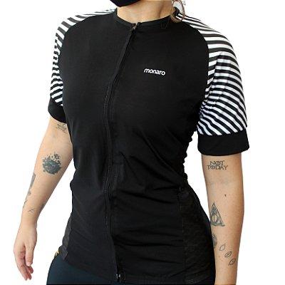 Camisa Ciclismo Feminina Zebra Comfort Premium Monaro