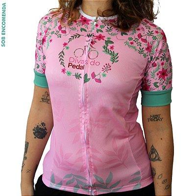 Camisa Ciclismo Divas do Pedal Modelo Divas & Brutas Comfort Premium Monaro
