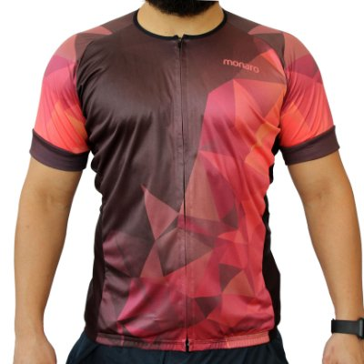 Camisa Masculina Ciclismo Red Triangle Comfort Classic Monaro