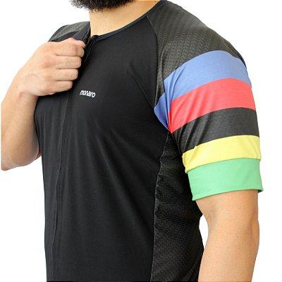 Camisa Ciclismo Masculina Power Up Comfort Premium Monaro