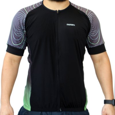 Camisa Ciclismo Masculina Topografia Comfort Premium Monaro