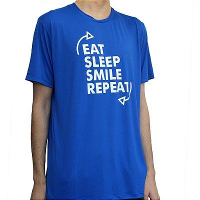 Camiseta Poliamida Esporte Running Repeat Monaro