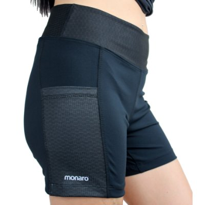 Shorts Feminino Corrida Premium Black