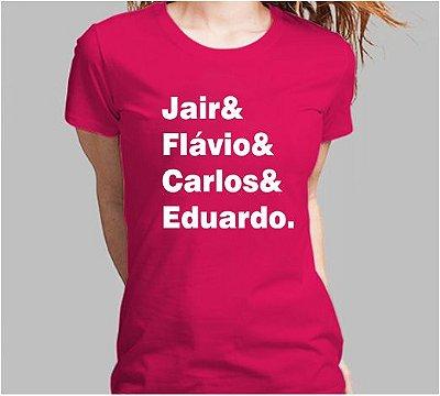 Camiseta Bolsonaro Nomes