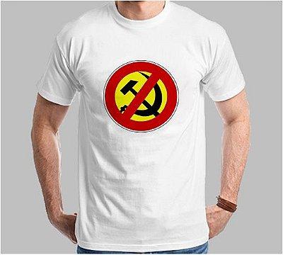 Camiseta Anti-Comunismo (Super Econômica!!!)