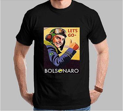 Camiseta Lest Go Bolsonaro