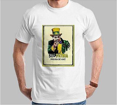 Camiseta Sua Pátria Precisa de Você (Super Econômica!!!)