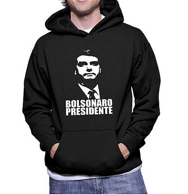 Blusa Moletom Canguru Bolsonaro Presidente