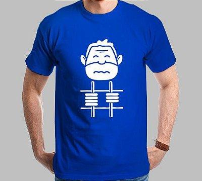 Camiseta Hashtag Lula Na Cadeia