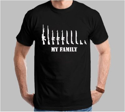 Camiseta My Family