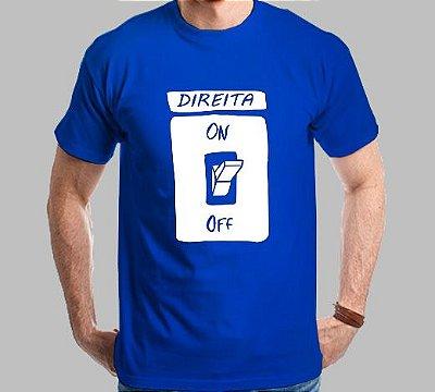 Camiseta Interruptor Direita