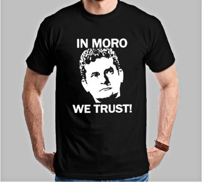 Camiseta In Moro We Trust!