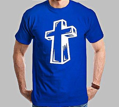 Camiseta Cruz Estilizada
