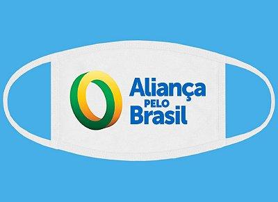 Máscara Aliança pelo Brasil
