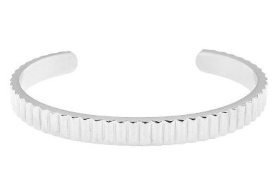 Pulseira de aço masculina estilo bracelete modelo King