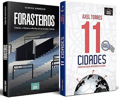 COMBO ESPECIAL: Forasteiros + 11 Cidades (envios via Correios as terças e sextas-feiras)