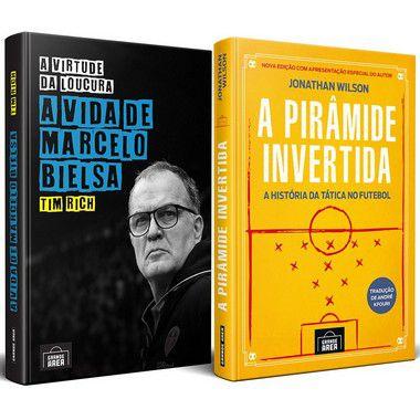 COMBO: A Virtude da Loucura: A Vida de Marcelo Bielsa + A Pirâmide Invertida (envios via Correios a partir de 30 de setembro)