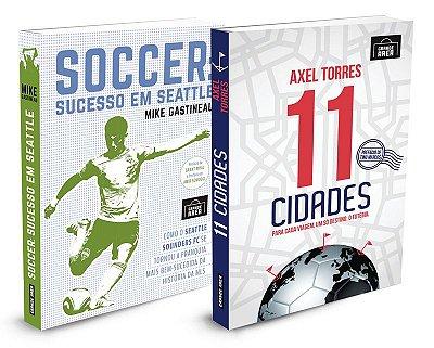 COMBO Não é só futebol (envios via Correios às 3ªs e 5ªs feiras)