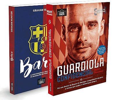 COMBO Barça + Guardiola I (envios via Correios às 3ªs e 5ªs feiras)