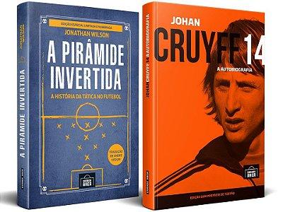 COMBO ESPECIAL: Cruyff + A Pirâmide Invertida ESPECIAL (envios via Correios, às terças e sextas-feiras, sujeitos a prazos mais longos)