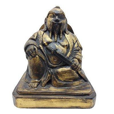 Buda com Espada 12cm