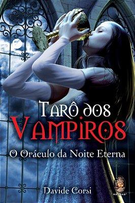 Tarô dos Vampiros 78 cartas + livro