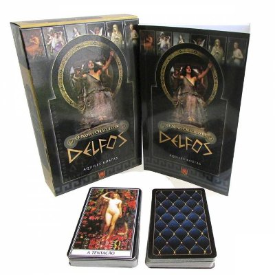 Tarô Novo Oraculo de Delfos Livro + 78 cartas