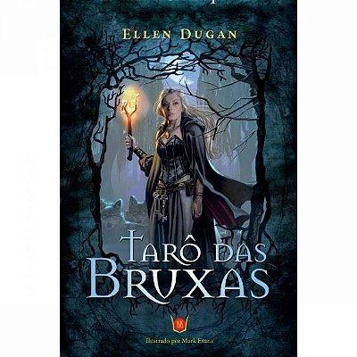 Tarô das Bruxas Livro + Tarô 78 cartas Isis