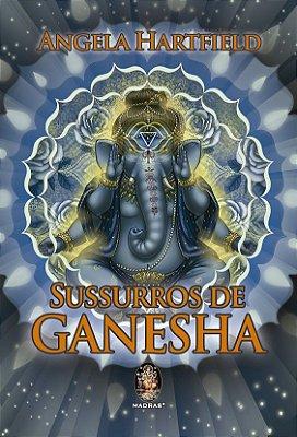 Tarô Sussurros de Ganesha 50 cartas + livro