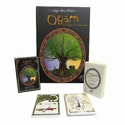 Baralho e Livro Ogam Oráculo das Árvoves