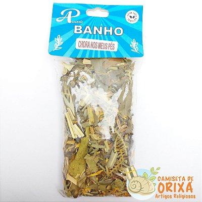 Banho Chora Nos Meus Pés