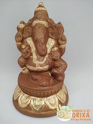 Ganesha Sentado 15 gesso