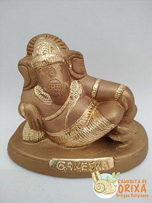 Ganesha Deitado 12 gesso