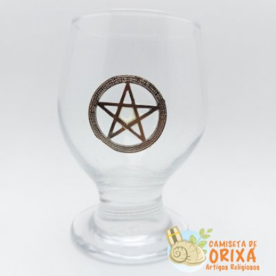 Taça Pentagrama Wicca