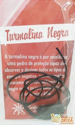 Colar Turmalina Negra