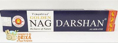 Incenso Golden Nag Darshan