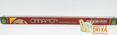Incenso Cinnamon Mahalakshimi