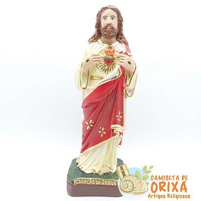 Coração de Jesus 20 cm