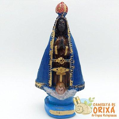 Nossa Senhora Aparecida 15cm resina