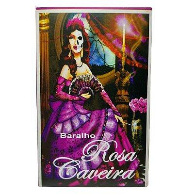 Baralho Rosa Caveira