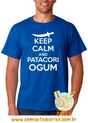 Keep Calm and Patacori Ogum
