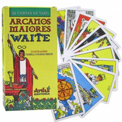 Tarô Arcanos Maiores Waite Artha
