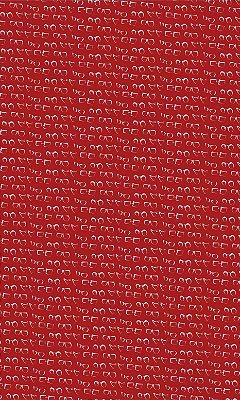 Corte de Tecido de Revestimento de Sofá/Cadeira Modelo:  Sant cor Vermelho