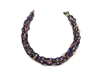 CORRENTE CATENELLE Acetato Modelo: 1M cor Púrpura
