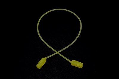 CORRENTE SICUREZZA SILICONE Modelo: GRIP JÚNIOR cor Amarelo Bebê