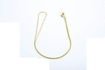 CORRENTE Metal ESPECIAL Modelo L15074 Cor Ouro