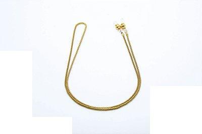 CORRENTE Metal ESPECIAL Modelo Rabo de Rato Especial Cor Ouro